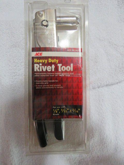 Heavy Duty Rivet Tool