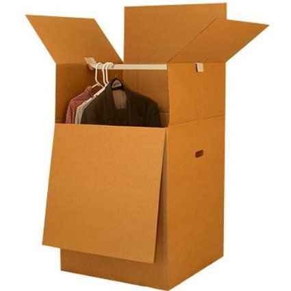 WANTED Wardrobe Moving Boxes