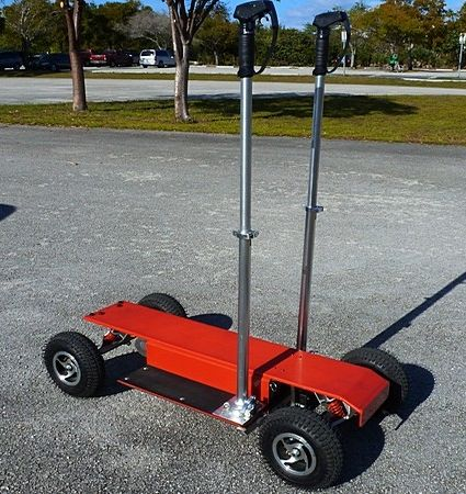 The 800 Watt Collapsible Electric Rover Scooter