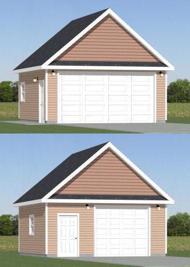 20x20 2 car garage pdf floorplan 400 sqft bridgeport for 20x20 garage