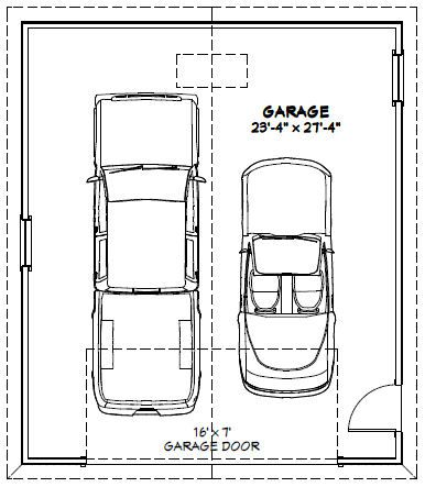 2 Car Garage Wiring Plans 24 X28