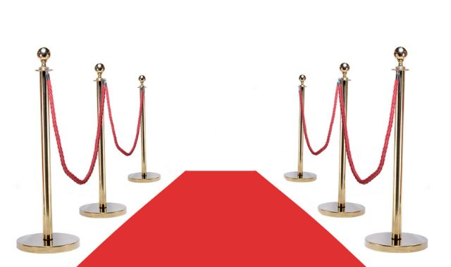 VIP RED CARPET COMBO (6POSTS + 4ROPES + RED CARPET