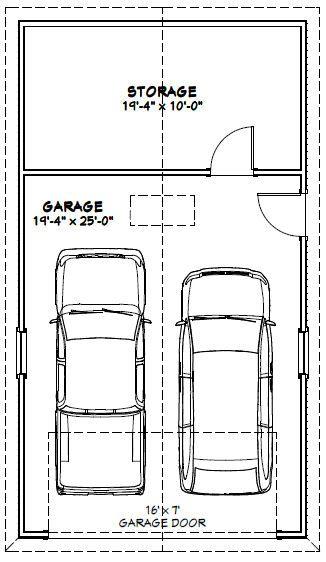 20x36 garage -- 720 sq ft