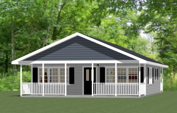16x20 tiny house 581 sq ft pdf floor plan dallas for 28x36 garage