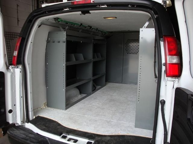 Cargo Van Shelving Van Ladder Racks