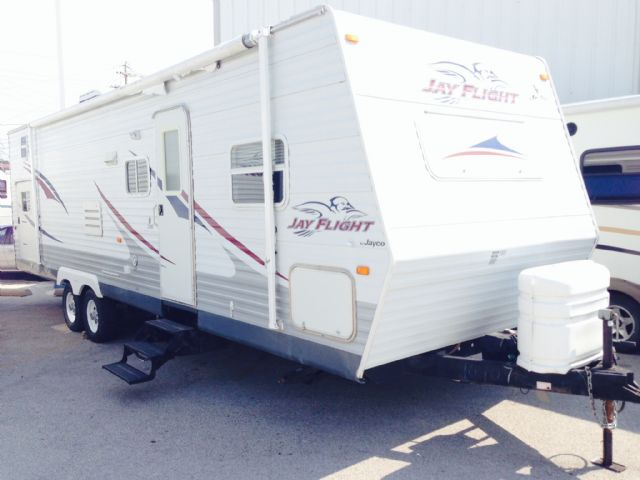 "JAY FLIGHT BY JAYCO ""HIDE AWAY QUAD BUNKS"" TRAILER"