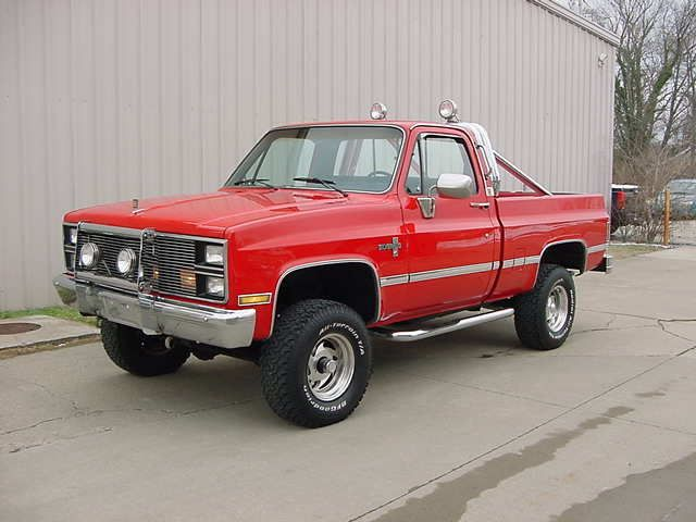 1984 Chevrolet Silverado 1500 COLUMBUS OHIO Pickup Trucks Vehicles For Sale Classified Ads ...