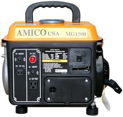 High Quality 1000 Watt Pull Start Gasoline Generat