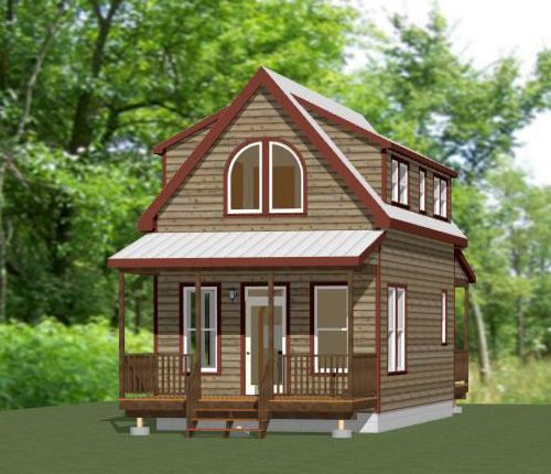 12x12 tiny house 282 sqft pdf floor plan rogers for 28x36 cabin plans