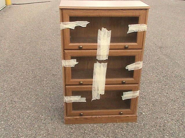 3-tier Wooden Display Case