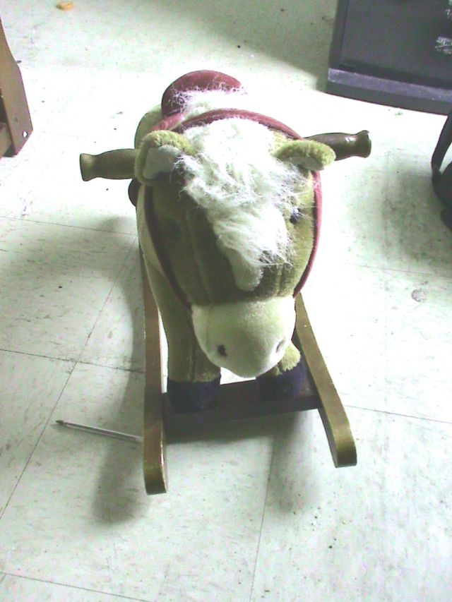 Kid's Collectible Rocking Horse