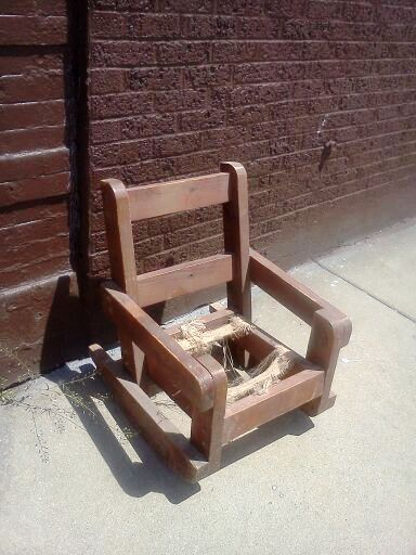 Antique Mini Rocking Chair