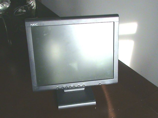 NEC Multisync flat computer screen