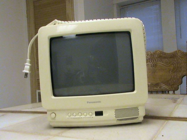 Panasonic model #CT-9R10T, 9 inch Television