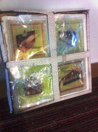 Collectible Square glass cake Dishes