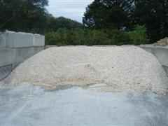White pea gravel for landscaping projects knoxville for Landscape gravel for sale