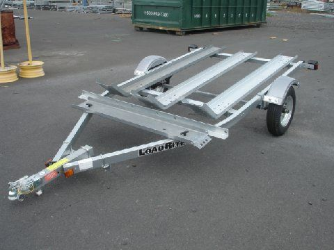 Load Rite MC 1800 3 rail motorcycle trailer