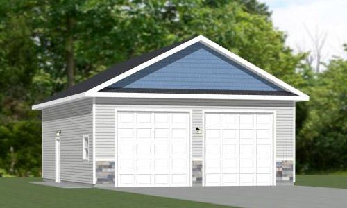 28x36 garage 1 008 sqft pdf floor plan akron ohio for 28x36 garage