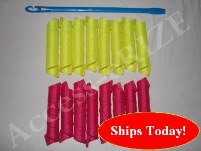 Long Extra-Wide Hair Curlers Curlformers Spiral