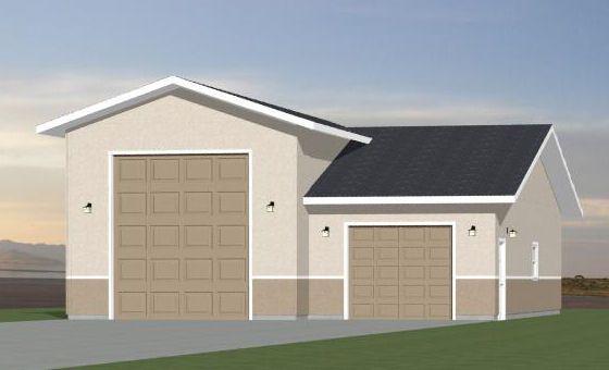 32x40 1 rv 1 car garage pdf floor plan columbus georgia for 32x40 garage plans