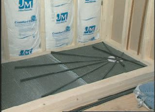 Pre Pitch Pre made Shower Floor Drainage slope Kit