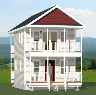 16x20 tiny house 581 sq ft pdf floor plan dallas for Small house plans texas