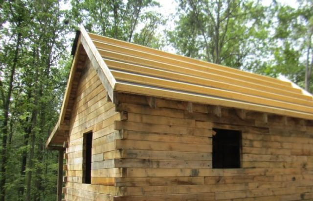 Small Oak Log Cabin Kit DALLAS TEXAS GeneralMisc For Sale