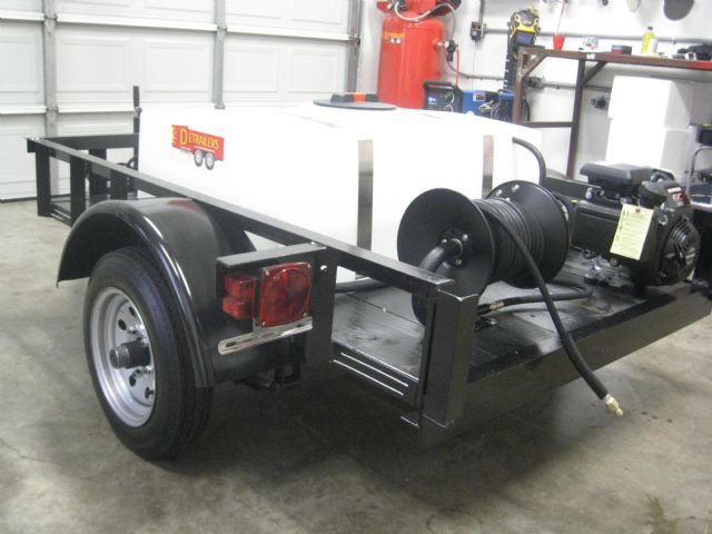 Mobile Detailing Equipment : Mobile carwash detailing trailer los angeles california