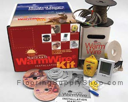 SunTouch Electric Radiant under floor WarmWire Kit
