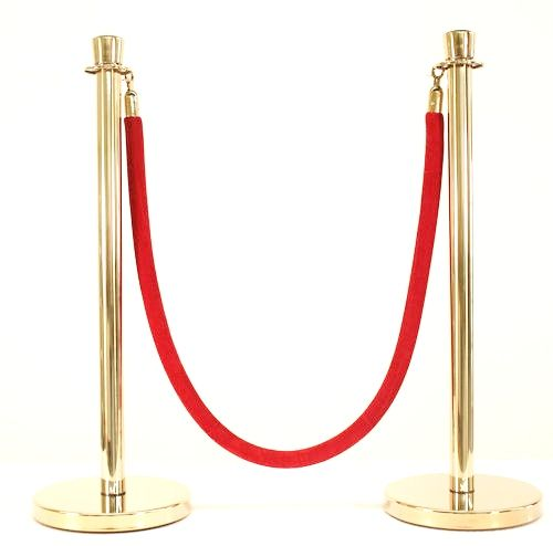 3 PCS GOLD POLISHED STANCHION SET
