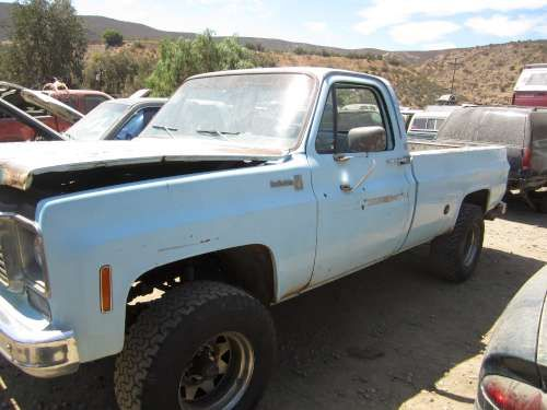 For Parts: 1977 Chevy K20