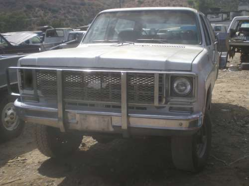 Parting out a 1978 K5 Blazer for Parts
