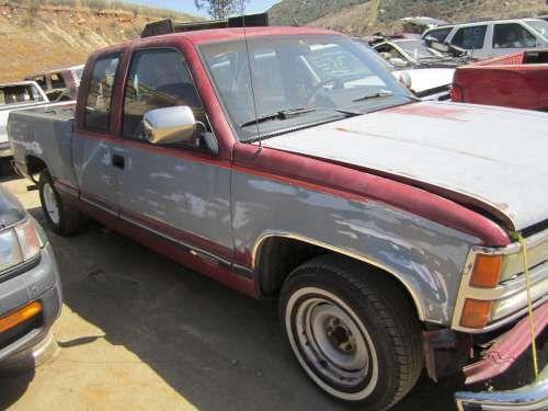 Dismantling: 1992 Chevrolet 1500