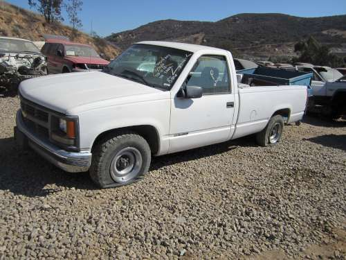 Dismantling: 1997 Chevrolet 1500