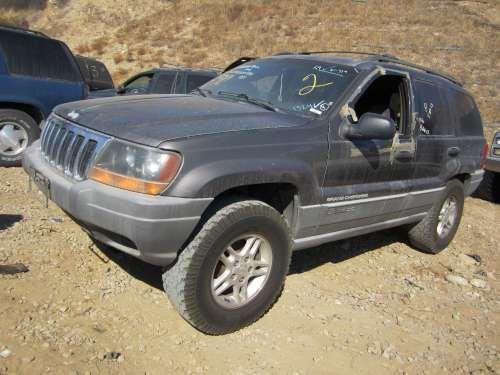 Dismantling: '99 Jeep Grand cherokee