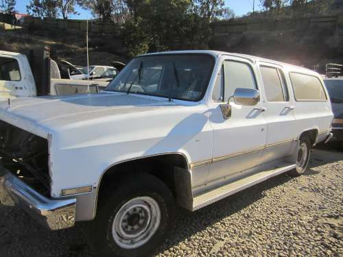 Parting Out: 1985 Gmc Suburban