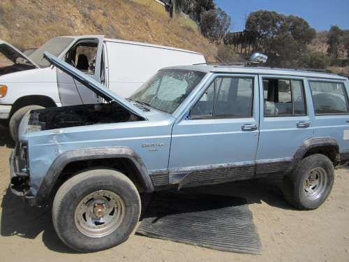 Parting Out: 1989 Jeep Cherokee