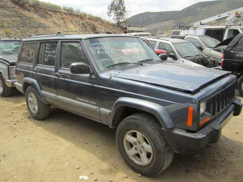 Dismantling: 2001 Jeep Cherokee