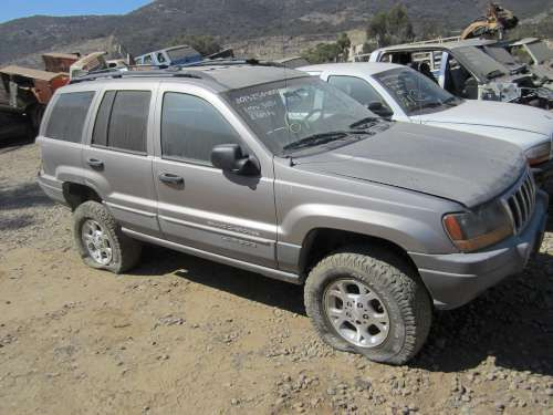 Parting Out: '99 Jeep Grand cherokee