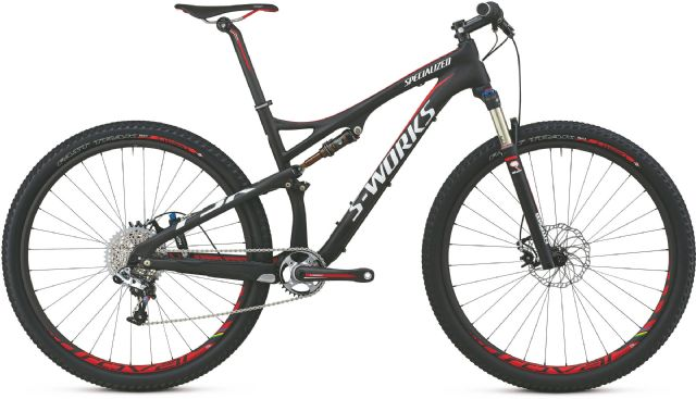 2014 Specialized S-Works Epic Carbon 29 SRAM Bike