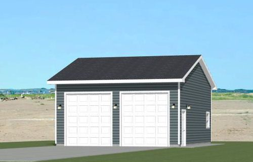 16x32 1 bedroom tiny house 511 sq ft pdf plan for 40x36 garage
