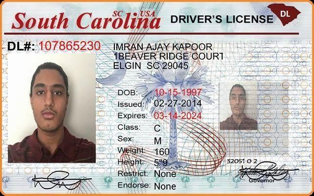 south carolina drivers license requirements
