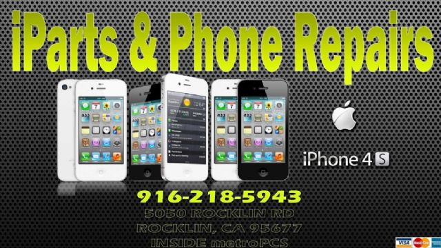 ROSEVILLE IPHONE 4S ..SPRINT IPHONE REPAIR