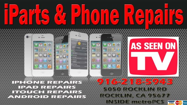 ELK GROVE VERIZON HTC INCREDIBLE SCREEN REPAIR