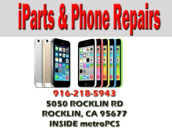 WALK IN SAME DAY iTouch... REPAIR SERVICE ROCKLIN