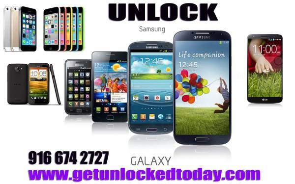 Samsung S4 Galaxy Unlock Codes---Remote Unlock