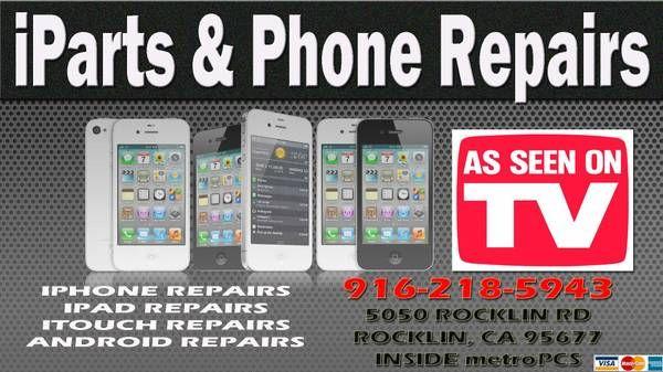IPHONE REPAIR...ROCKLIN IPHONE 4 4S REPAIR