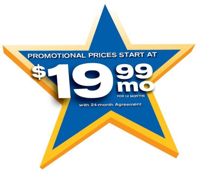 Dish TV promotions - $19.99/mo