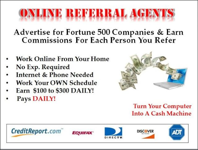 Remote Agents Needed--Cash Paid DAILY!!!