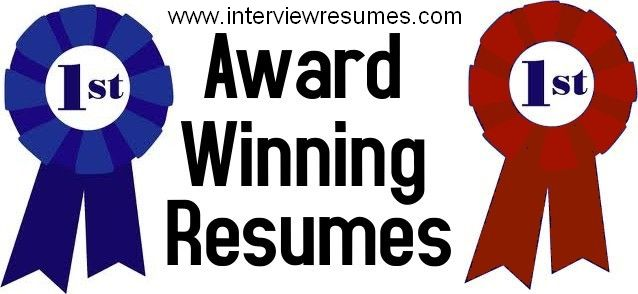Company: Award Winning Resumes / Business Writing